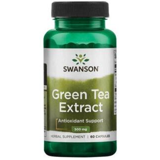 Swanson Green Tea Ekstrakt 500mg - 90 kaps