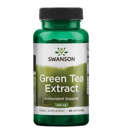 Swanson Green Tea Ekstrakt 500mg - 90 kaps