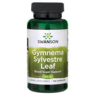 Swanson Gymnema Sylvestre 400mg - 100 kaps