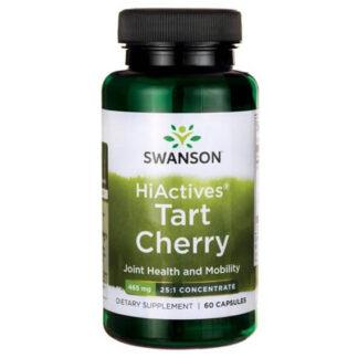 Swanson HiActives Tart Cherry 465mg - 60 kaps