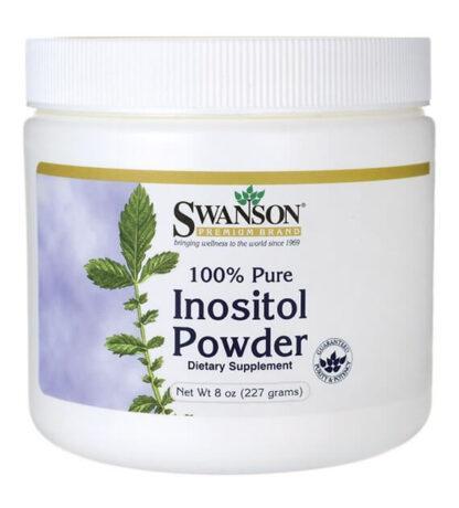 Swanson Inozytol - 100%czystosci - 227g