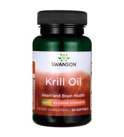 Swanson Krill Oil 1000mg - 30 kaps.