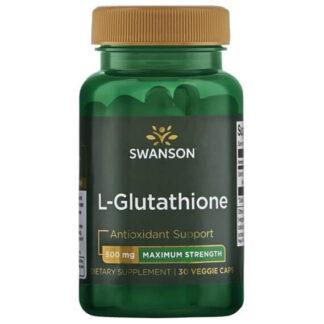 Swanson L-Glutation 500mg - 30 kaps