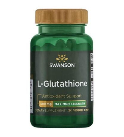Swanson L-Glutation 500mg - 30 kaps
