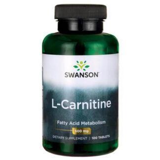 Swanson L-Karnityna 500mg - 100 kaps