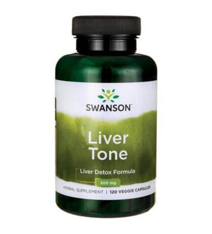 Swanson Liver Tone Liver Detox Formula - 120 kaps