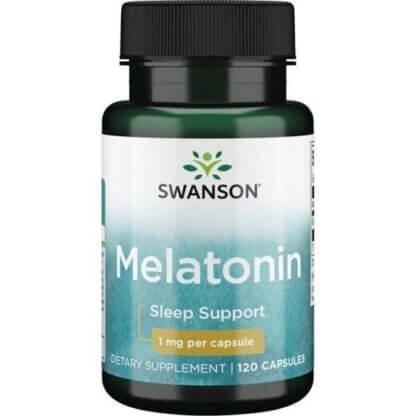 Swanson Melatonina 1mg - 120 kaps.