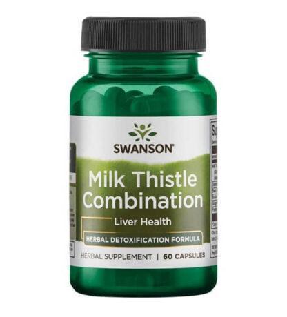Swanson Milk Thistle Combination - 60 kaps