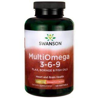 Swanson Multiomega 3-6-9 - 120 kaps