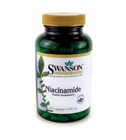 Swanson Niacyna 250mg - 250 kaps