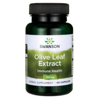 Swanson Olive Leaft Extract 500mg - 60 kaps