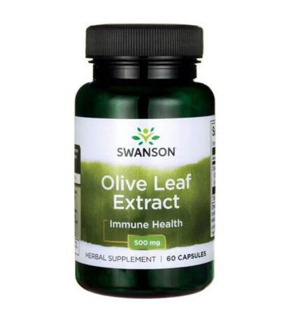 Swanson Olive Leaft Extract 500mg - 60 kaps
