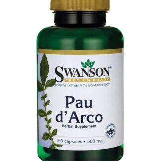 Swanson Pau d'Arco 500mg - 100 kaps.
