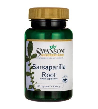 Swanson Sarsaparilla 450mg - 60 kaps