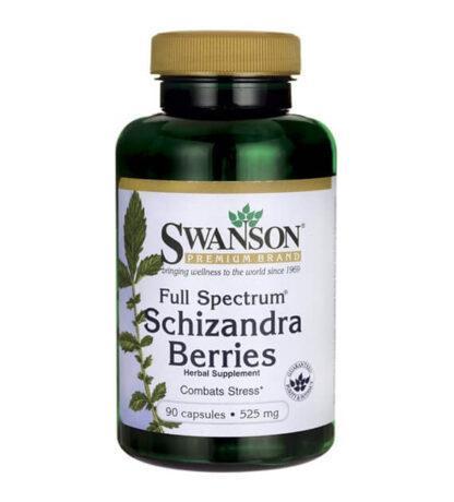 Swanson Schizandra 525mg - 90 kaps