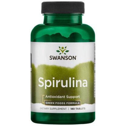 Swanson Spirulina 500mg - 180 kaps