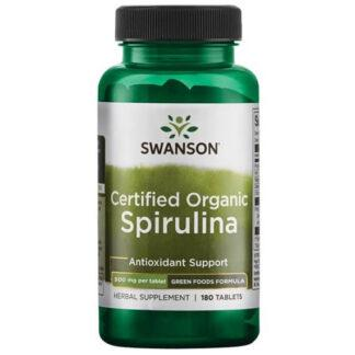 Swanson Spirulina Certified - 180 kaps