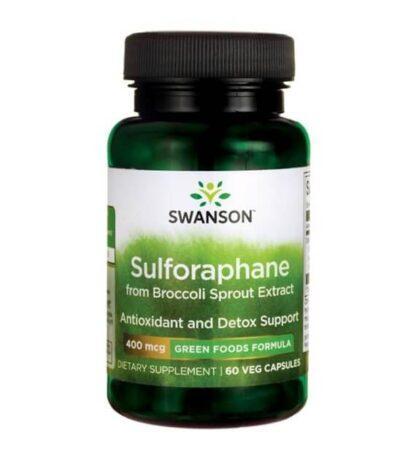 Swanson Sulforafan 400mcg - 60 kaps
