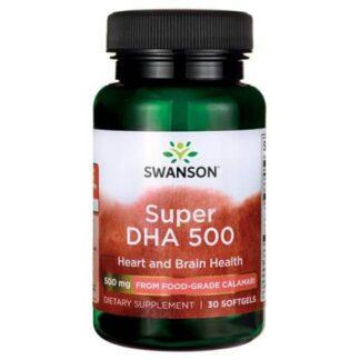 Swanson Super DHA 500mg - 30 kaps