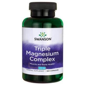 Swanson Triple Magnesium - 300 kaps.
