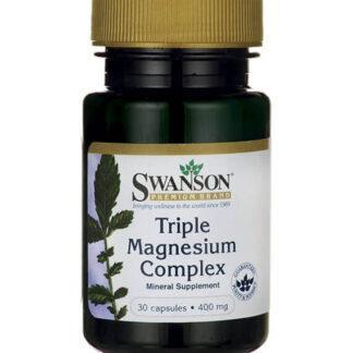 Swanson Triple Magnesium Complex - 30 kaps (1)