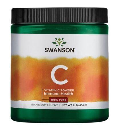 Swanson Witamina C - 100% czystości - 454g