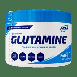 6PAK Glutamine - 240g