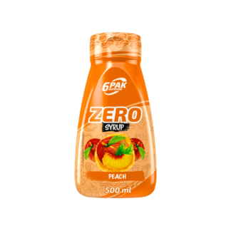 6PAK Nutrition Sauce ZERO Peach - 500ml