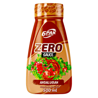 6PAK Sauce Zero Andalusian - 500ml