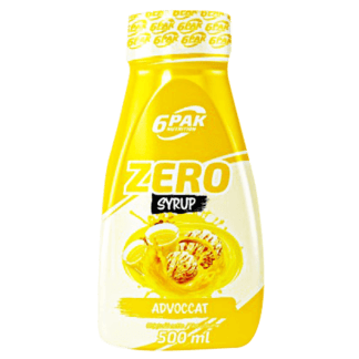 6PAK Syrup Zero Advocat - 500ml