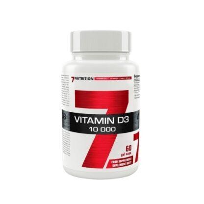 7Nutrition Vitamin D3 10,000 IU - 60 kaps.