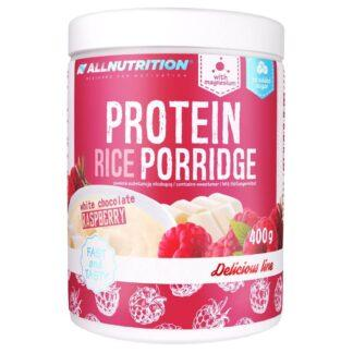 AllNutrition Protein Rice Porridge Biala Czekolada Malina - 400g