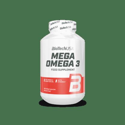 BioTech Mega Omega 3 - 180 kaps.
