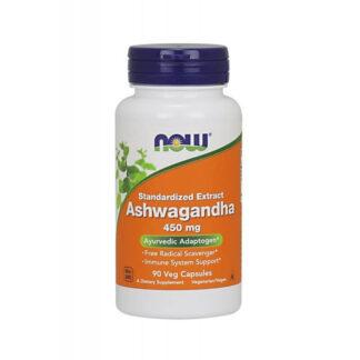 NOW Ashwagandha Ekstrakt 450mg - 90 kaps.