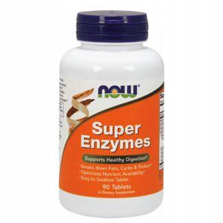 NOW Foods Super Enzymes - 180 tabl.