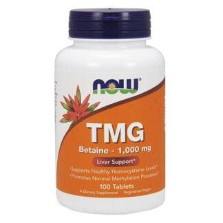 Now Foods TMG Betaine 1000 mg - 100tabl.