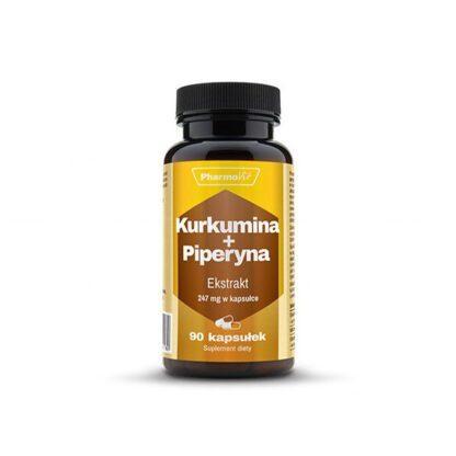 Pharmovit Kurkumina + Piperyna - 90 kaps.
