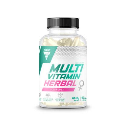 Trec Multivitamin Herbal For Women - 90 kaps.