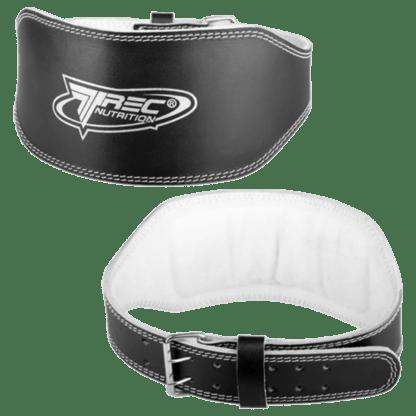 Trec Pas Treningowy Skórzany Szeroki Belt Leather Wide