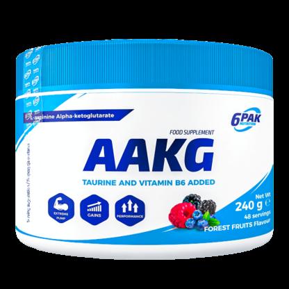 6PAK Nutrition AAKG Owoce Lesne - 240g