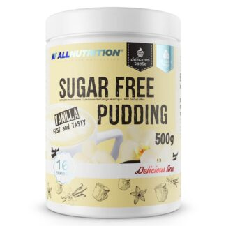 AllNutrition Sugar Free Pudding Vanilla – 500g