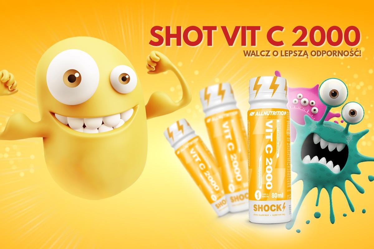 AllNutrition Vit C 2000 Shot – 80ml Baner