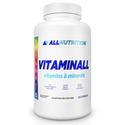 AllNutrition Vitaminall Vitamins & Minerals - 120 kaps.