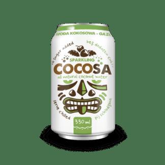Diet Food CocoSa Kokosowa Niegazowana Naturalna Z Sokiem Ananasowym - 330ml