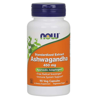 NOW Ashwagandha Ekstrakt 450 mg - 180 kaps.