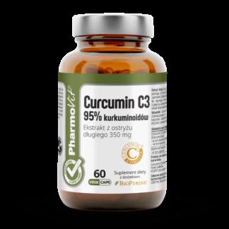 PharmoVit Curcumin C3 95% kurkuminoidów - 60 kaps.