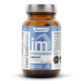 PharmoVit Herballine Immunoval - 60 kaps.
