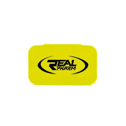 Real Pharm Pillbox Yellow