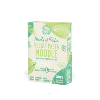 Diet Food MAKARON Z SERCA PALMY Noodle - 225 g