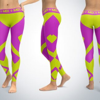 MEX Fit Girl Purple Leginsy